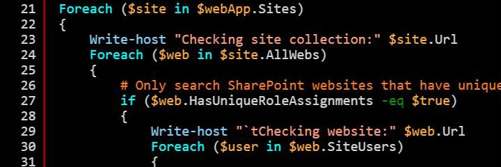 PowerShell script to delete SharePoint Orphaned Users